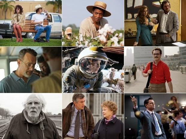 Oscar 2014 - Indicados (Melhor Filme)
