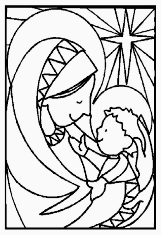 Adult Religious Coloring Pages