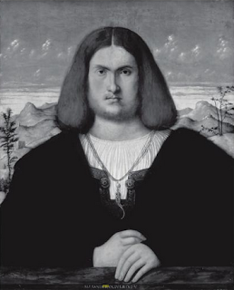 Alessandro Oliveri. 1510. Retrato de joven. Palillo al cuello. Lacasamundo.com