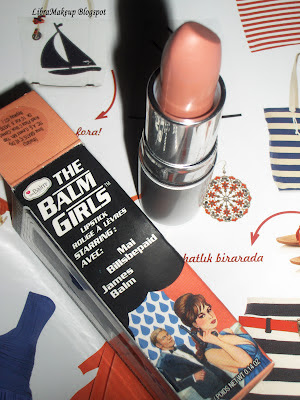 The Balm Girls Lipstick Mai Billsbepaid ruj lipstick