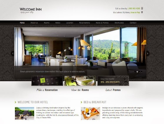 Welcome Inn HTML Theme
