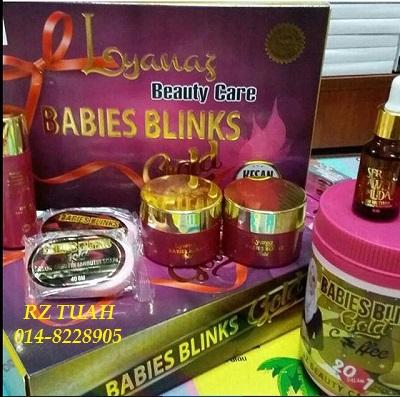 babies blink gold anugerah skrin murah original