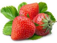 cara-menghilangkan-jerawat-alami-strawberry