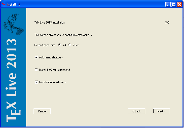 texmaker  packages windows xp