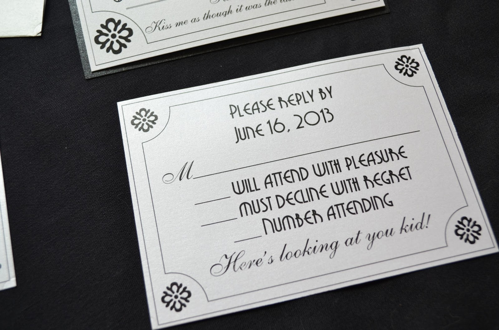 Beautiful Movie Themed Wedding Invitations Images - Styles & Ideas ...