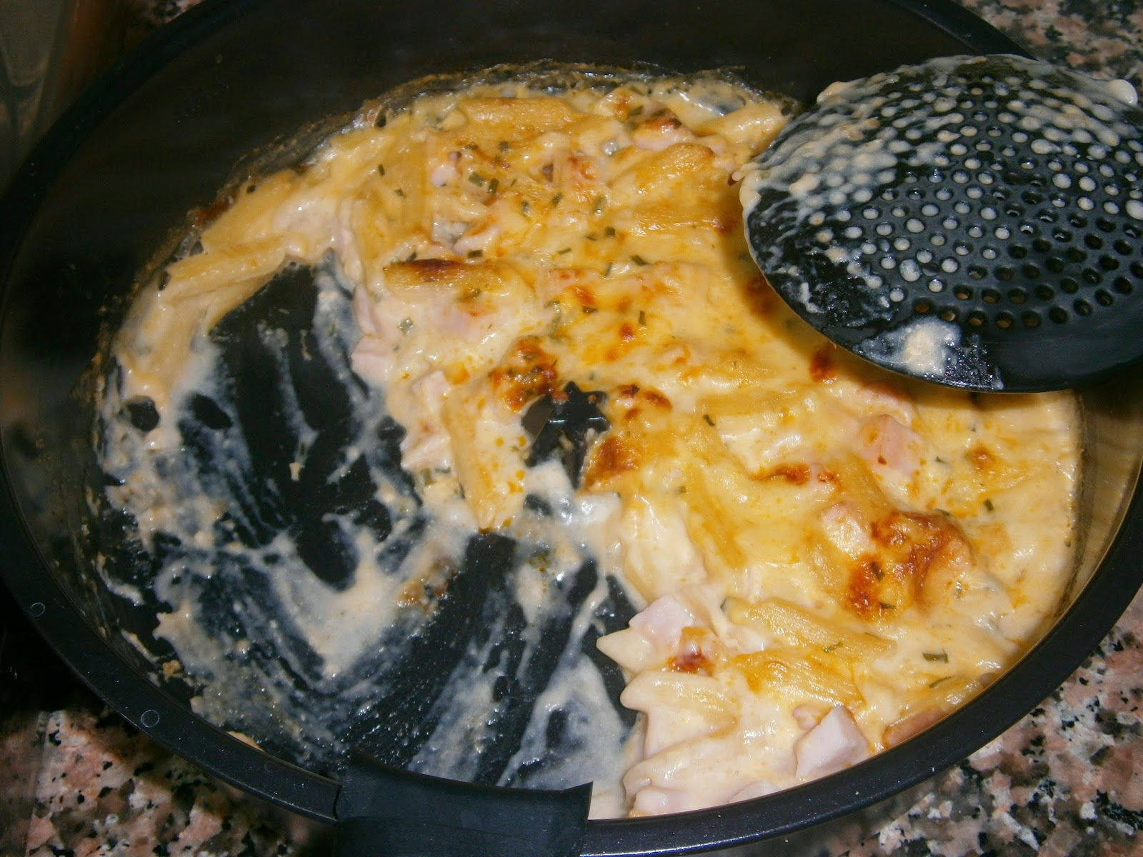 Cocina con xena macarrones con preparado de knorr - Macarrones con verduras al horno ...
