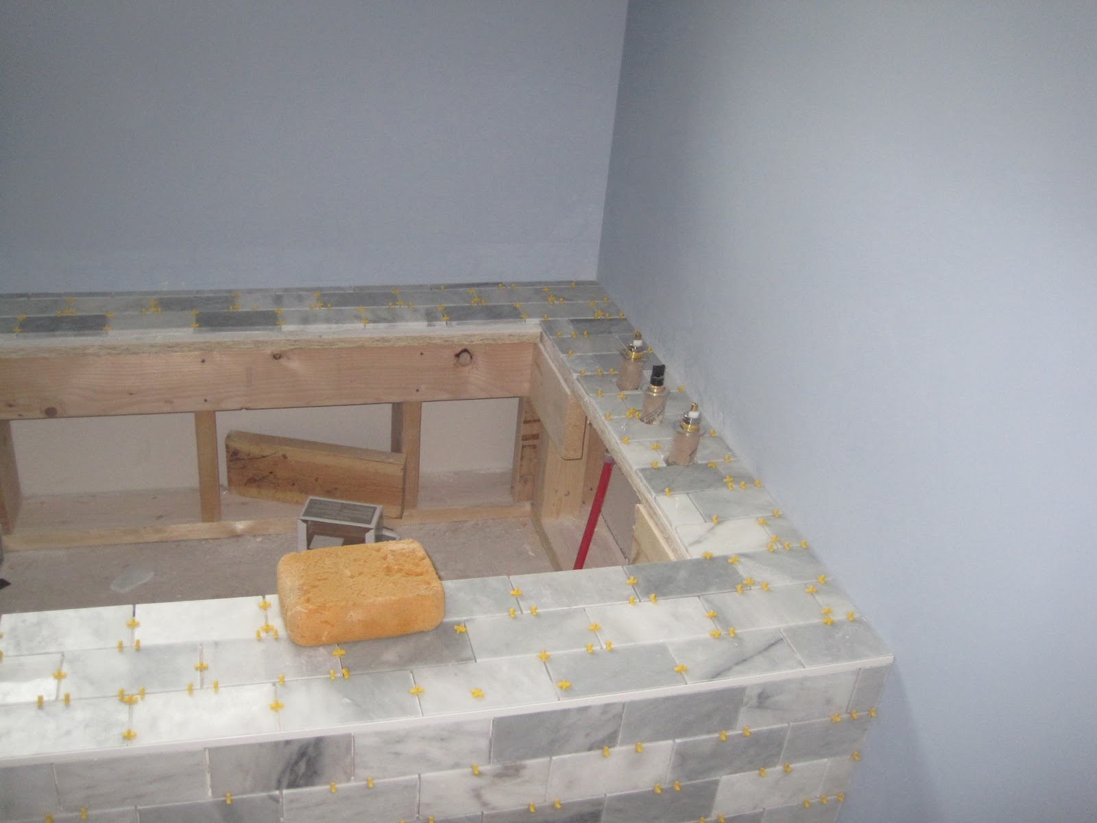 Building on Love - Marble Tub Surround