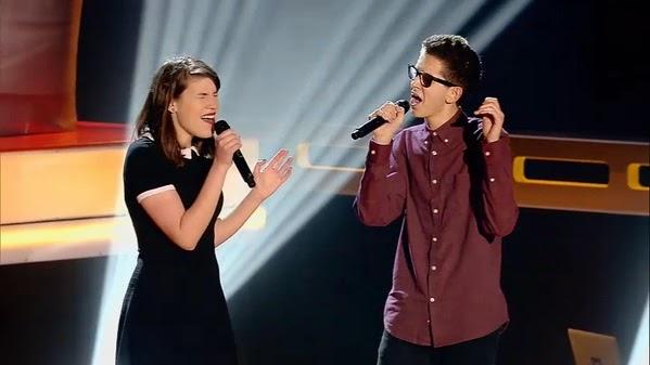 Isabel y Pablo canta Let her go de Passenger -la-voz