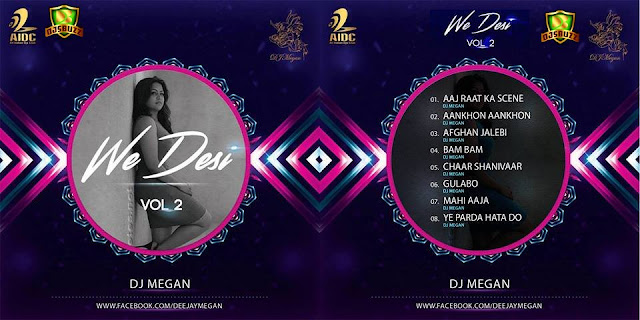 WE DESI VOL.2 - DJ MEGAN