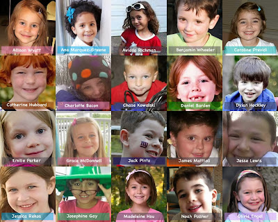 Child Victims of Newtown Connecticut