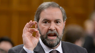 Tory line on PMO fund 'doesn't wipe,' Mulcair Mentioned