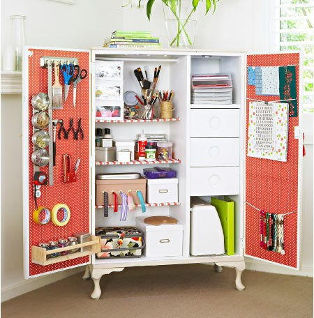 Crafty girl bliss craft storage ideas from pinterest Craft storage ideas