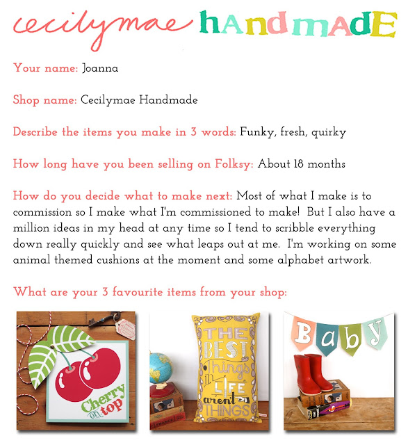 Cecilymae Handmade Folksy Shop