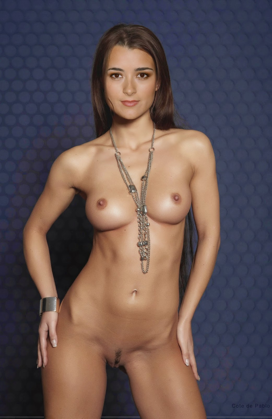 Nackt Bilder : Cote de Pablo Sexi Actress Fakes Photos   nackter arsch.com