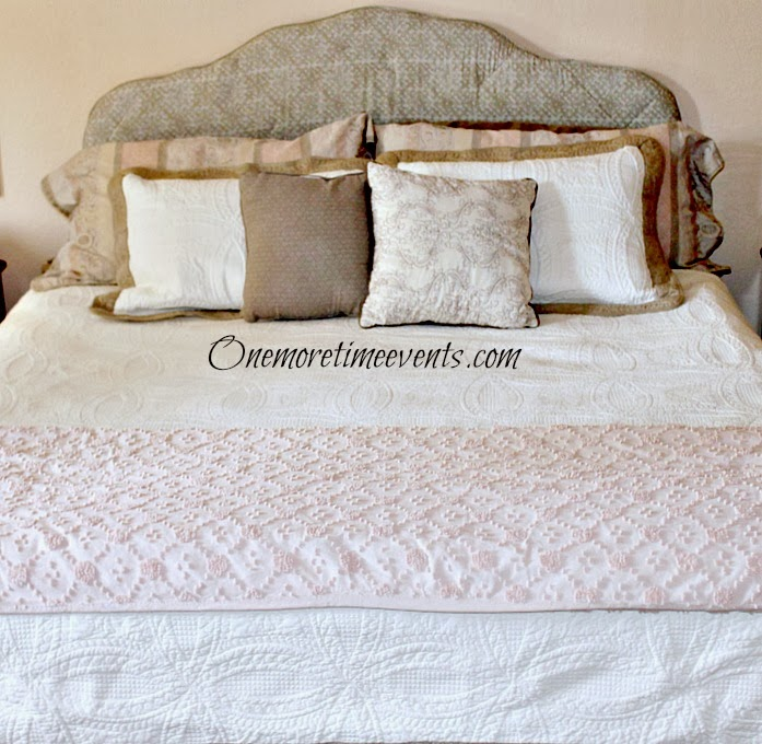 How to upholster a headboard at One More Time Events.com
