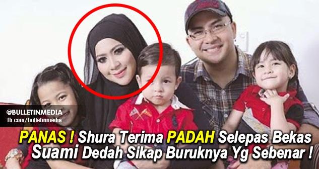 PANAS ! Shura Terima PADAH Selepas Suami Dedah Sikap Buruknya Yg Sebenar !