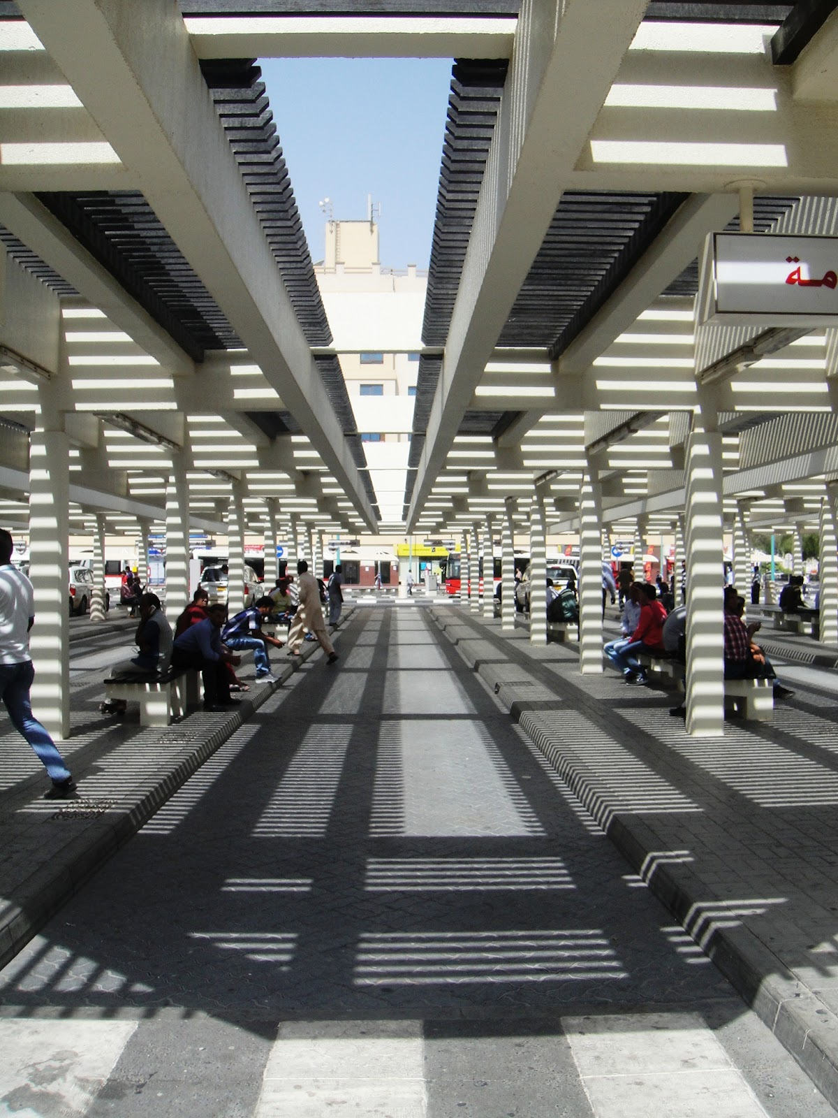 Ramesh Menon S Clicks And Writes Beauty Of Bur Dubai Bus Stand
