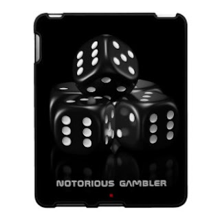 Black dice ipad case