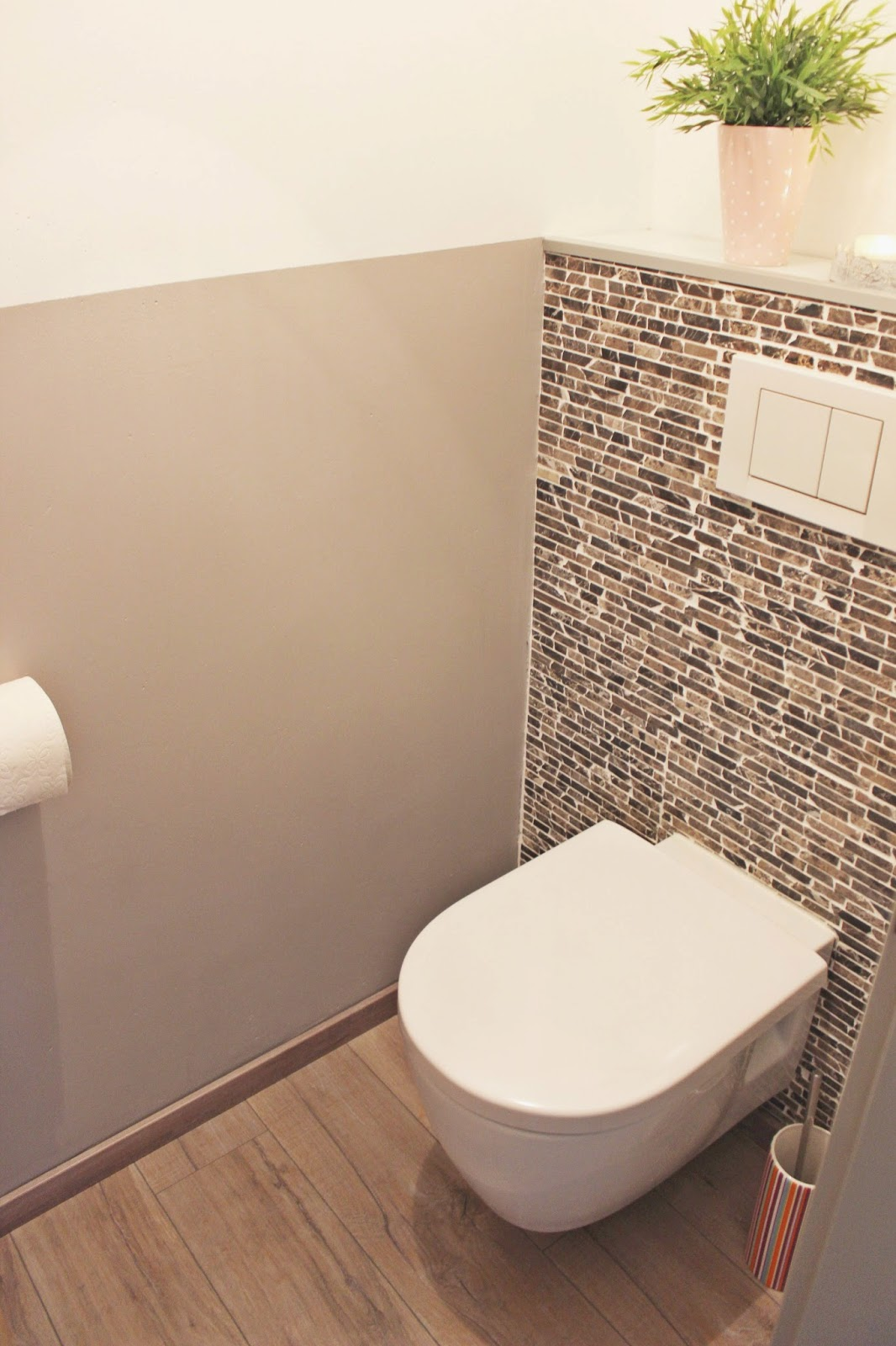 s'Bastelkistle: Roomtour WC - Vorher-Nachher