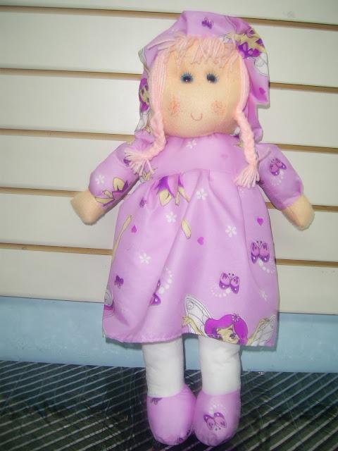muñecas de trapo, chikylu , artesanales , pepona