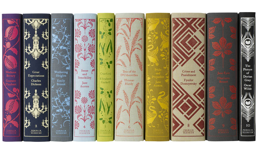 Classic Penguin Books Cover Design : Fröken lila beautiful books
