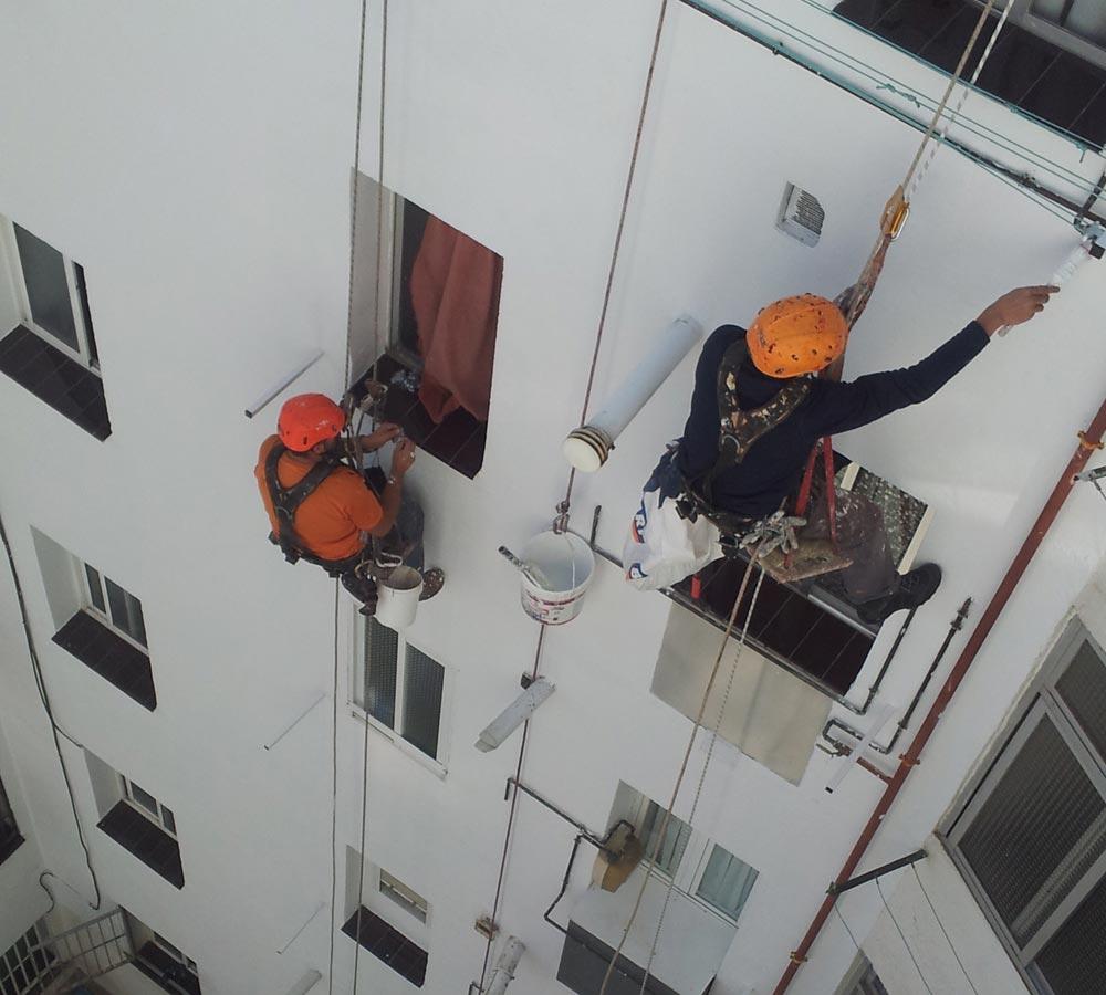 Estudio y rehabilitación de fachadas
