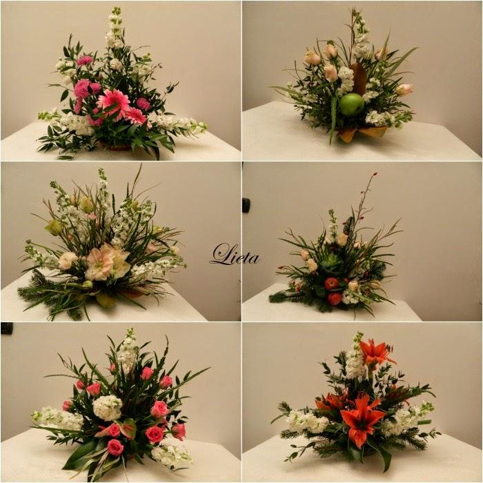 spesso LIETA CIMA: Una composizione di fiori invernale DN53