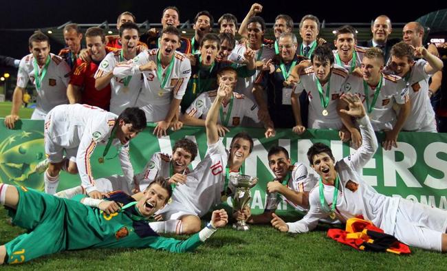 selección española de fútbol sub 19 campeona de Europa 2011