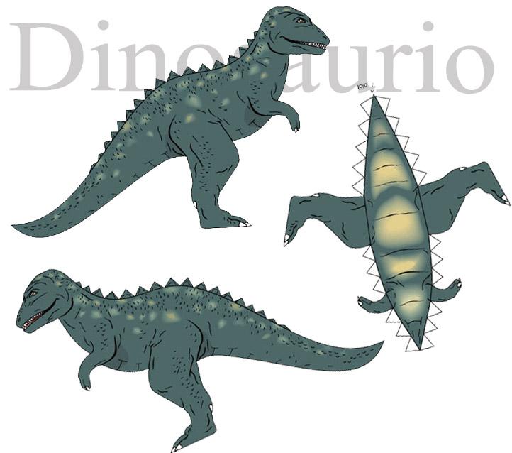 http://comohacermaquetas.blogspot.com/2015/01/dinosaurio-de-papel-en-tres-piezas.html