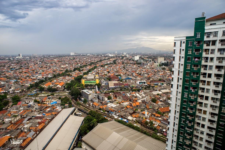 Jakarta vue du quartier de Salemba