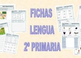 FICHAS DE LENGUA 2º