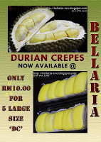 Durian Crepes