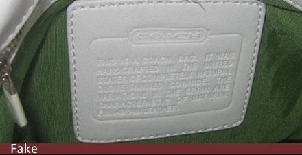 L.A Sweethearts: How To: Spot a Fake Coach Handbag!