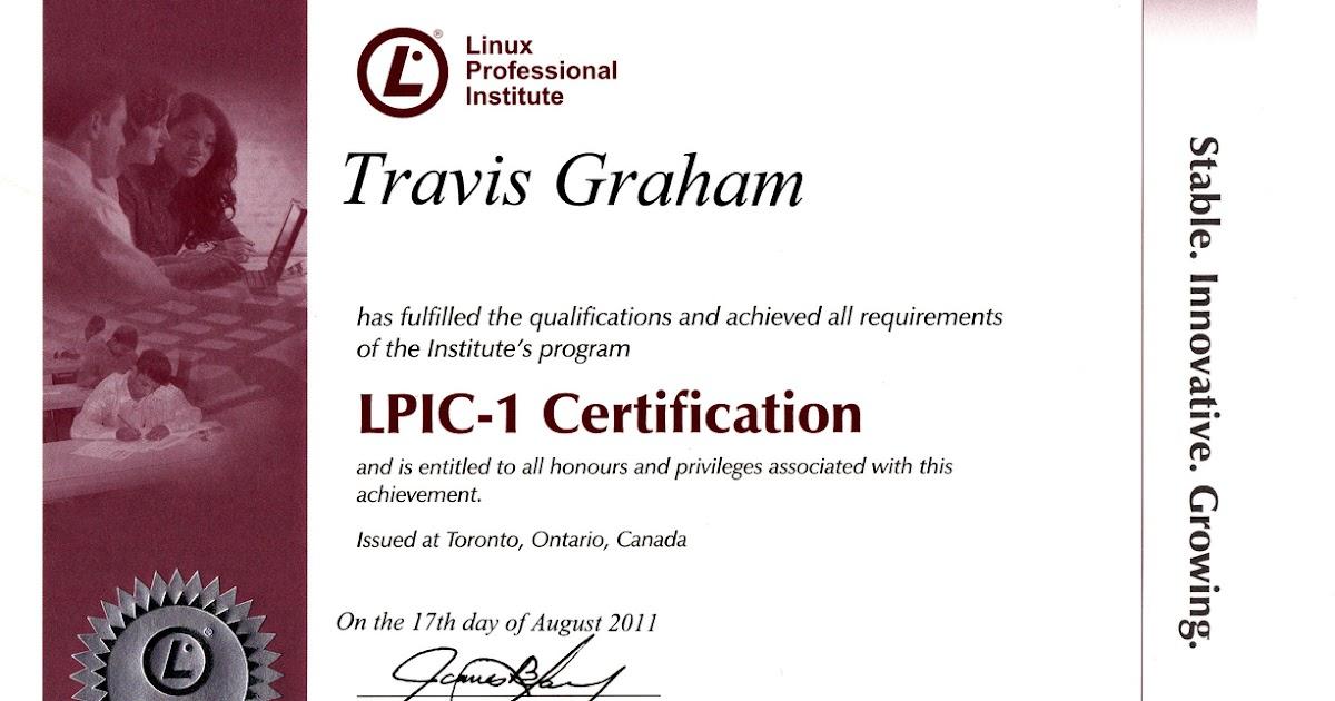 LPI is International Linux Training Organization based in Canada ...