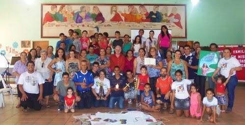 Formação das Famílias Missionárias em Caldas Novas