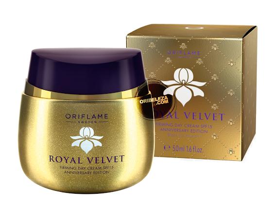 Creme de Dia Refirmante com SPF 15 Royal Velvet em Edição de Aniversário