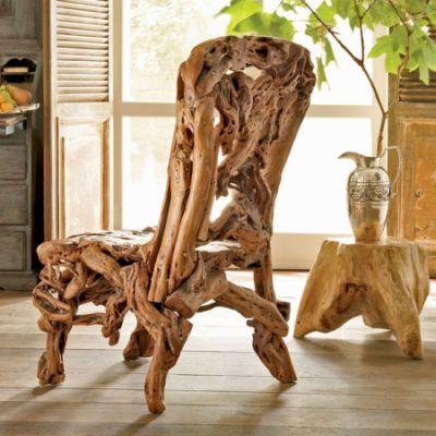 Azelea Wood Chair.