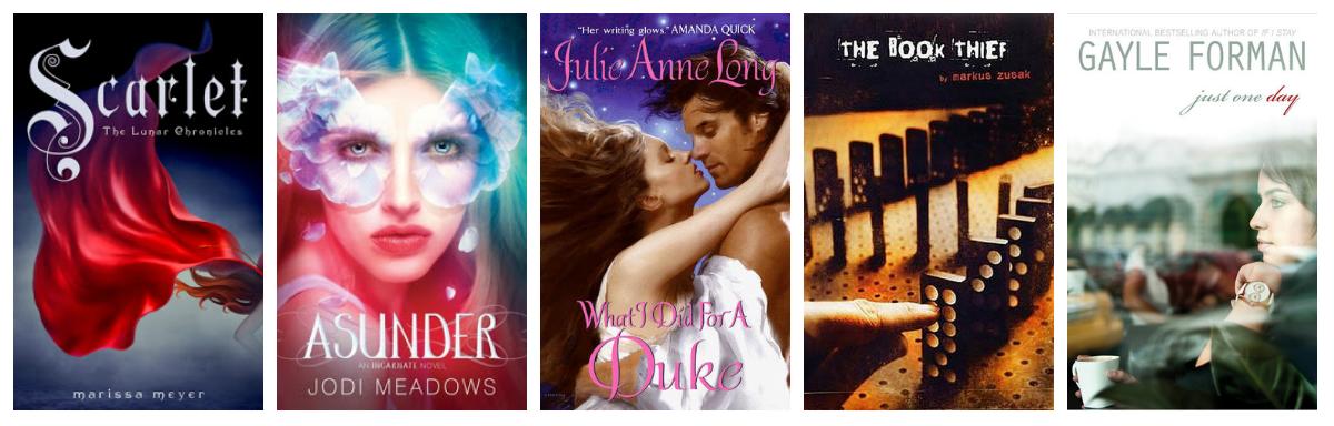 January 2013 Alexa Loves Books border=