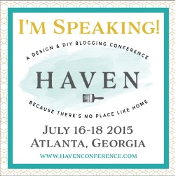 Join me at Haven 2015
