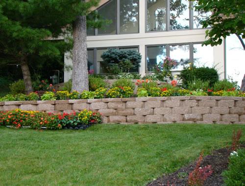 Landscaped Lawn-2