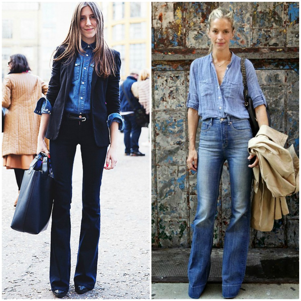 flared jeans - top uk fashion blog trends 2014 street style outfits