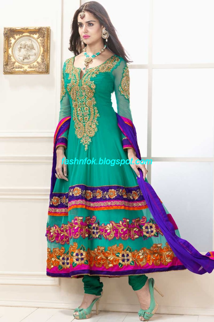 Fashion Fok: Indian Anarkali Umbrella Wedding-Brides-Bridal Party ...