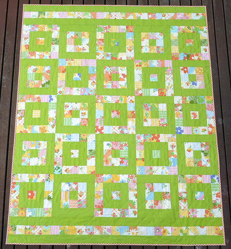 Layer Cake Quilt Instructions : Red Pepper Quilts: Just ONE Layer Cake ~ A Quilt Pattern