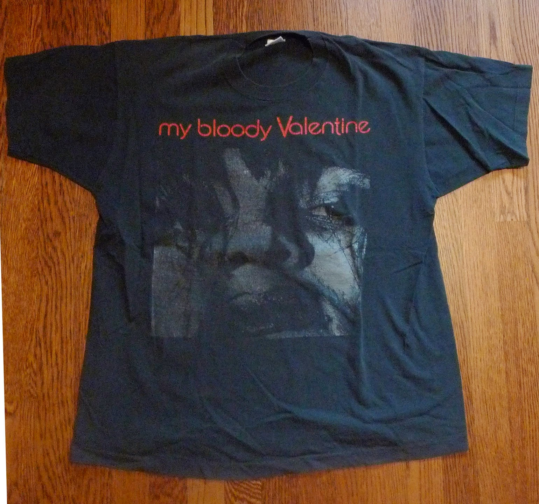 My Bloody Valentine Vintage Band T Shirt Sz XL Concert MBV Tee VTG