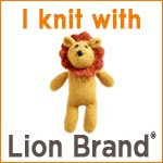 I Knit with Lion Brand