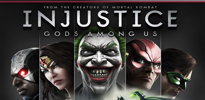 Injustice Gods Among Us APK OBB DATA 1.1 Modded Unlimited Gold TEGRA Android