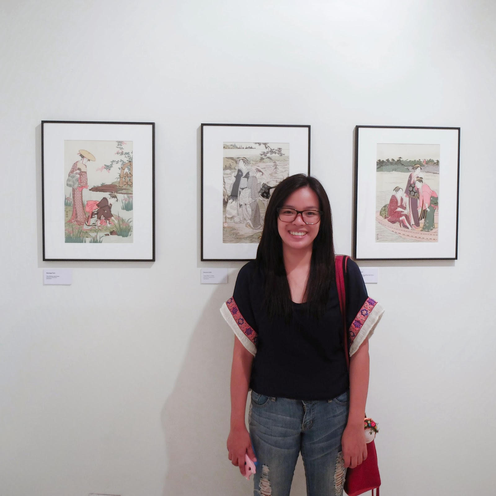 Ukiyoe Portraits exhibit - UP Diliman