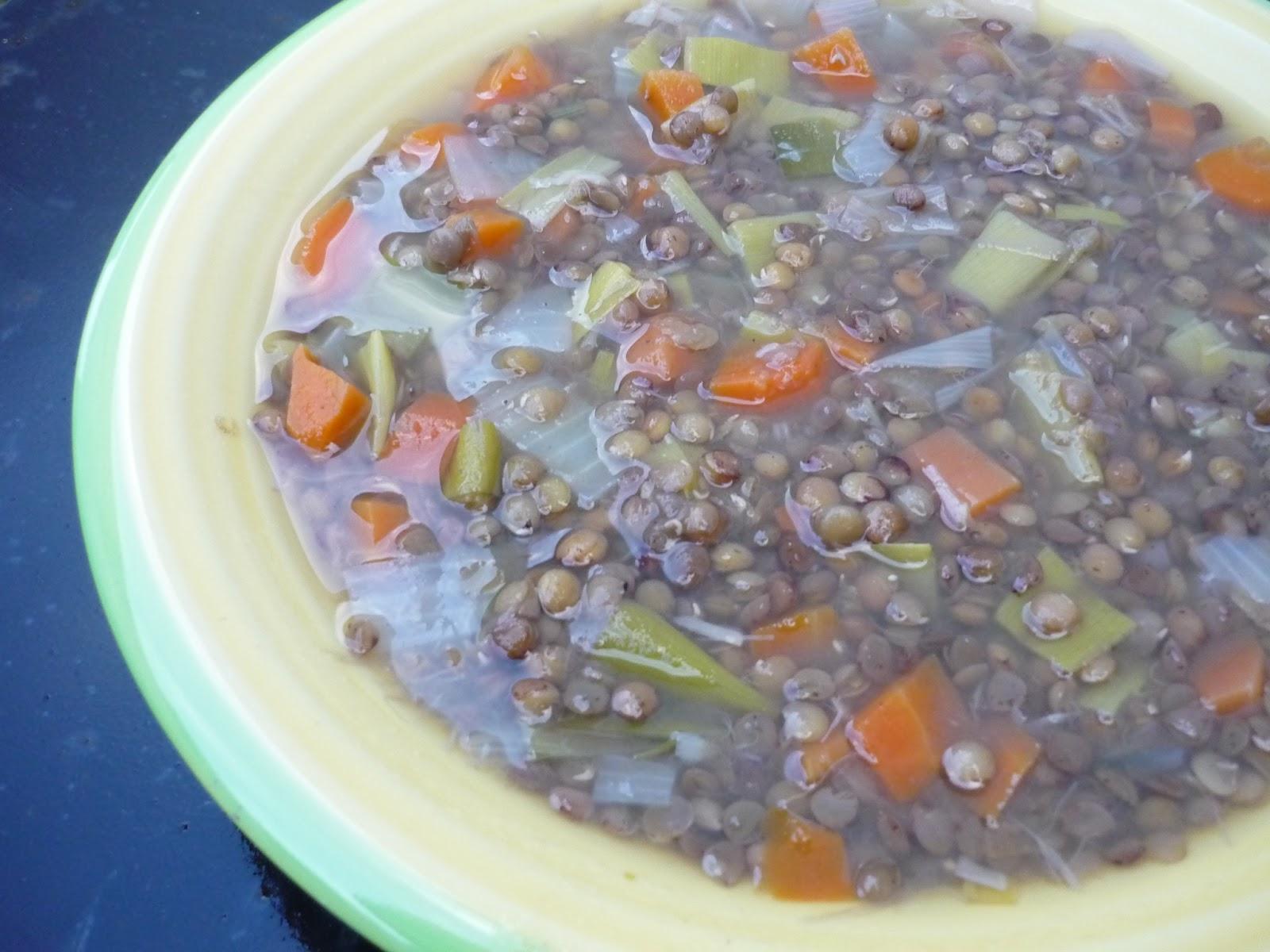 Candirecetas lentejas con verduras o verduras con for Cocinar lentejas con verduras