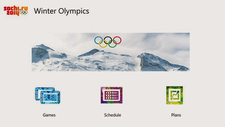 Windows 8 app f r die winterolympiade 2014 in russland for Klassisches haushaltsbuch