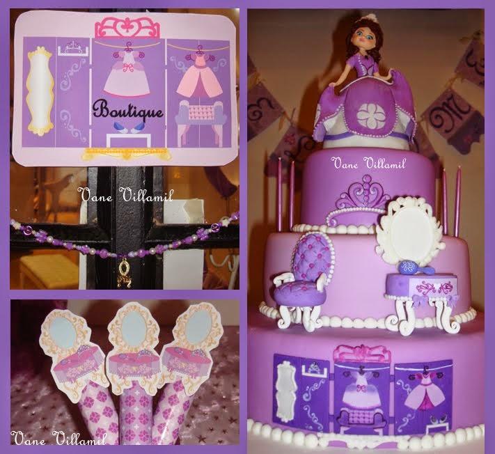 Maravillosa torta con impecable reproducción de mis diseños!